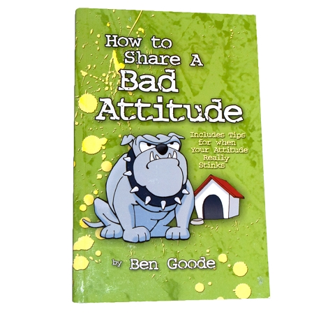 Gag Gifts - How to Share a Bad Attitude Book