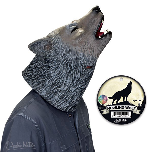 Gag Gifts - Howling Wolf Mask