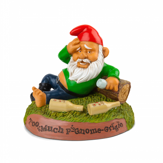 Gag Gifts - Hungover Gnome
