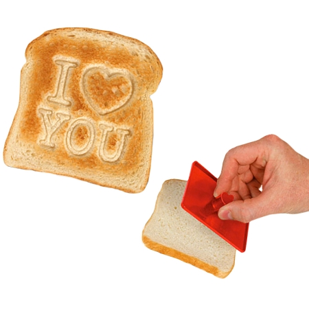 Gag Gifts - I Love You Toast Stamper