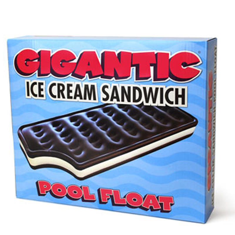 Gag Gifts - Ice Cream Sandwich Pool Float