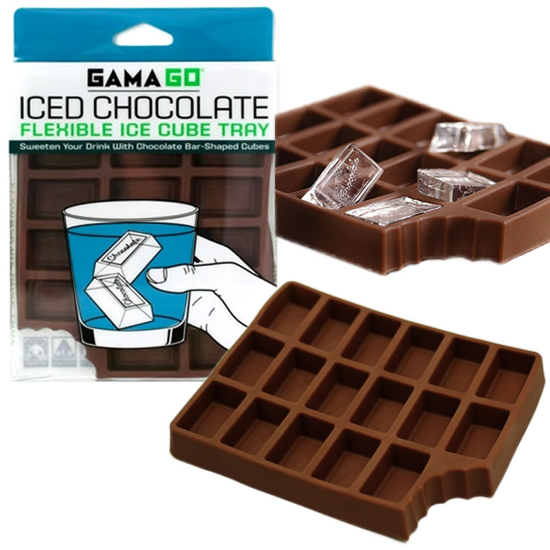 Gag Gifts - Iced Chocolate Ice Cube Tray