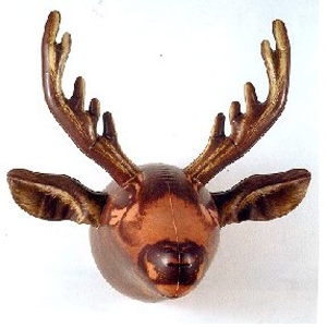 Gag Gifts - Inflatable Moose Head