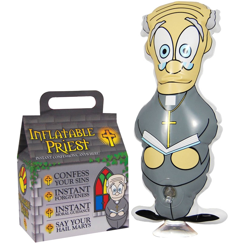 Gag Gifts - Inflatable Priest