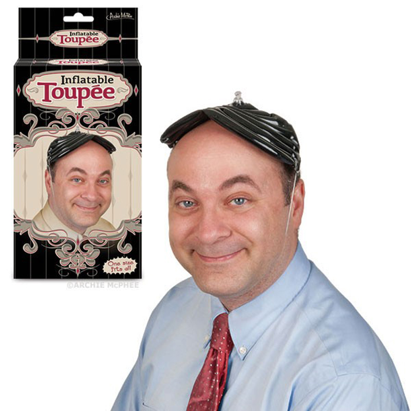 Gag Gifts - Inflatable Toupee