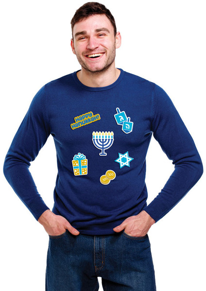 Gag Gifts - Instant Ugly Sweater: Hanukkah
