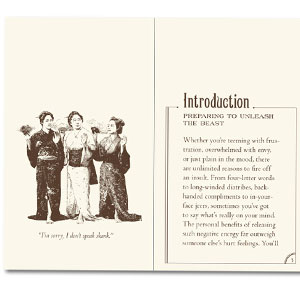 Gag Gifts - Insults and Comebacks Book
