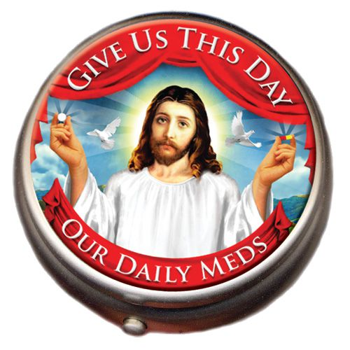 Gag Gifts - Jesus Pill Box