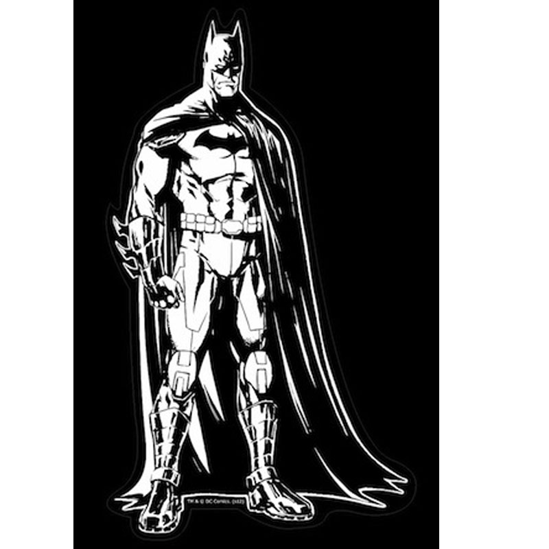 Gag Gifts - Justice League Car Decal: Batman