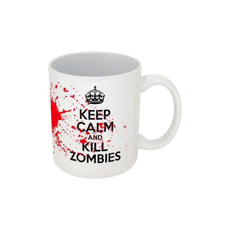 Gag Gifts - Keep Calm, Kill Zombies Mug