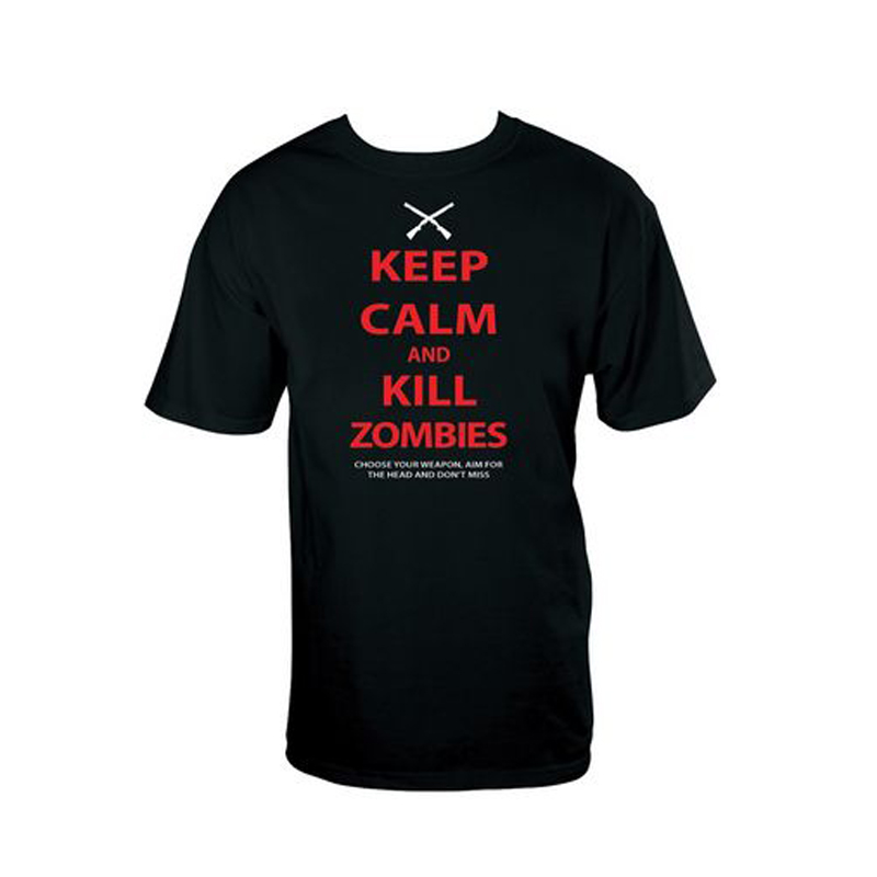 Gag Gifts - Keep Calm, Kill Zombies T-Shirt