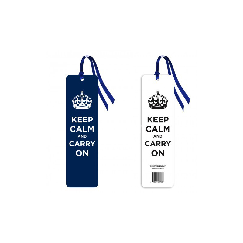 Gag Gifts - Keep Calm and Carry On Bookmark