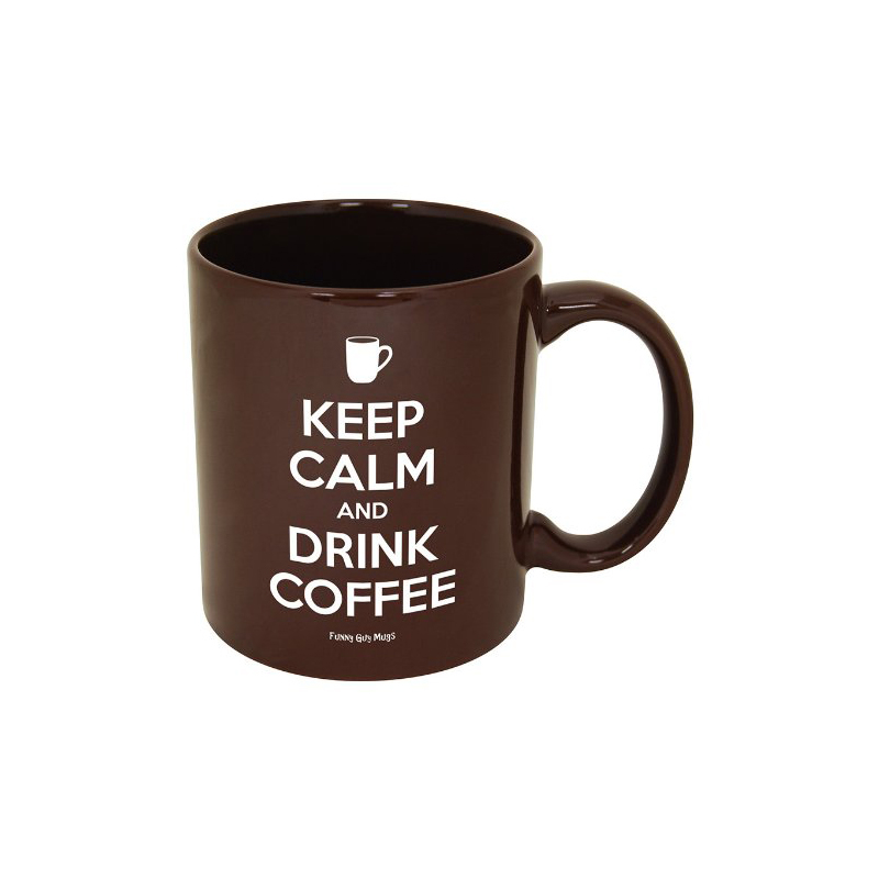 Gag Gifts - Keep Calm and Drink Coffee Mug