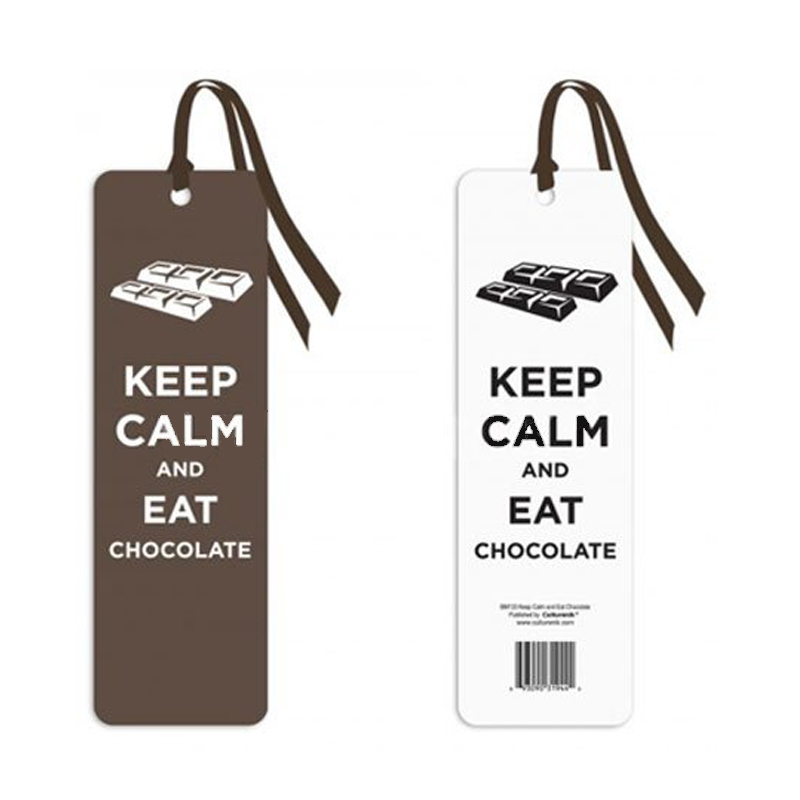 Gag Gifts - Keep Calm and Eat Chocolate Bookmark