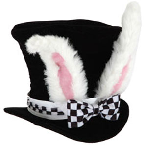 Gag Gifts - Kid's White Rabbit Hat