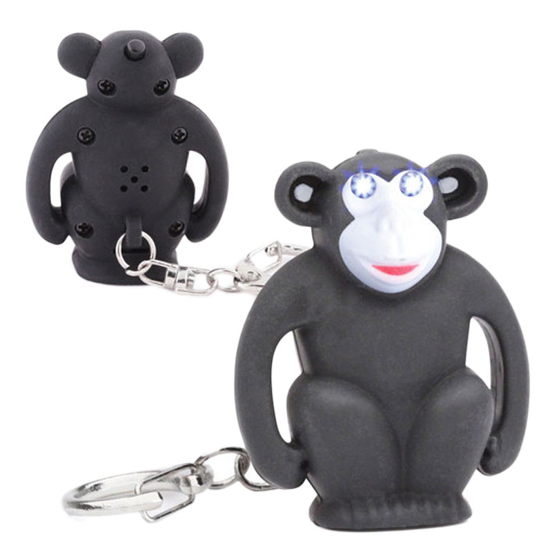 Gag Gifts - LED Monkey Keychain