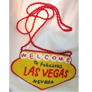 Gag Gifts - Las Vegas Beaded Purse