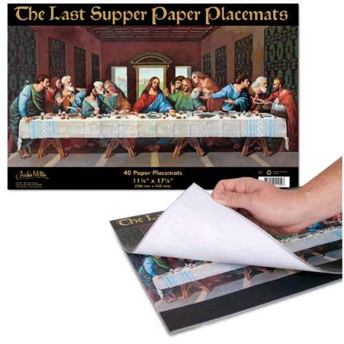 Gag Gifts - Last Supper Paper Placements