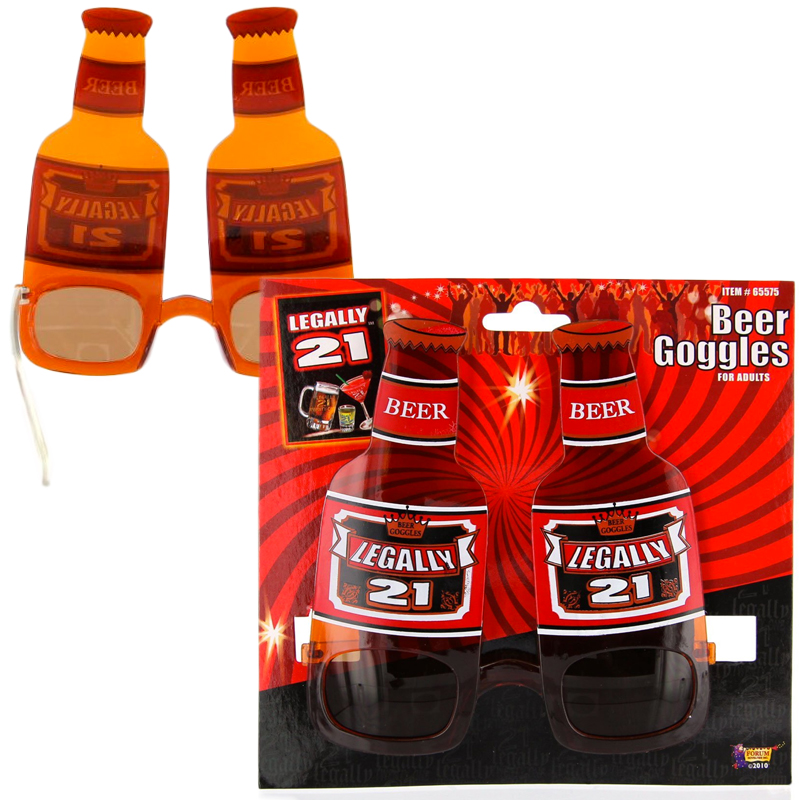 Gag Gifts - Legally 21 Beer Goggles