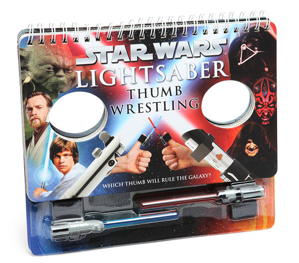 Gag Gifts - Lightsaber Thumb Wrestling Book