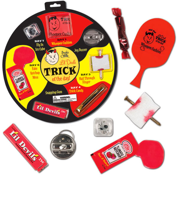 Gag Gifts - Lil' Devil's Trick of the Day Kit