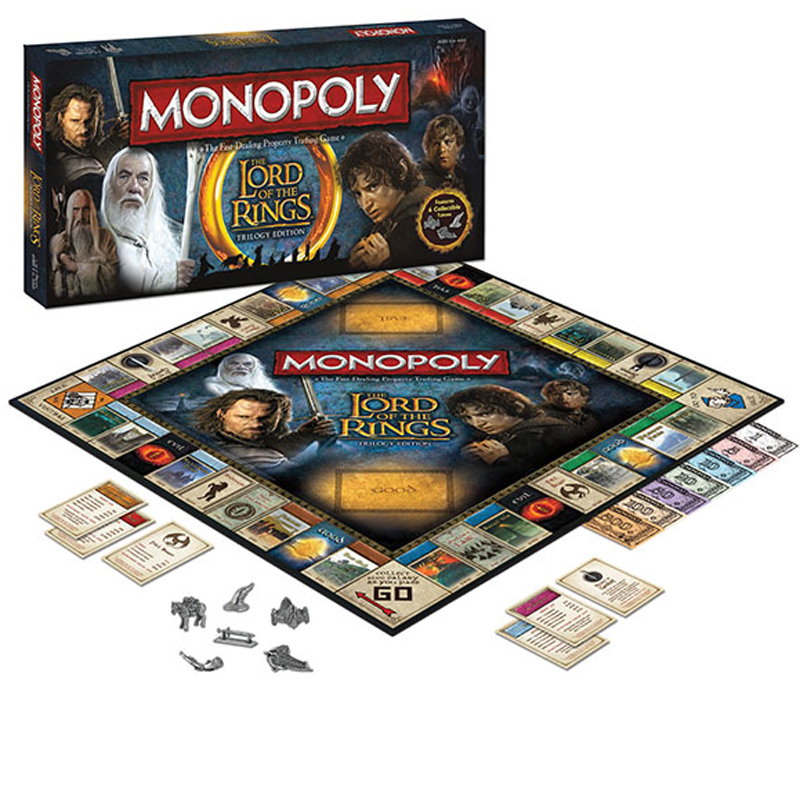 Gag Gifts - Lords of the Rings: Monopoly