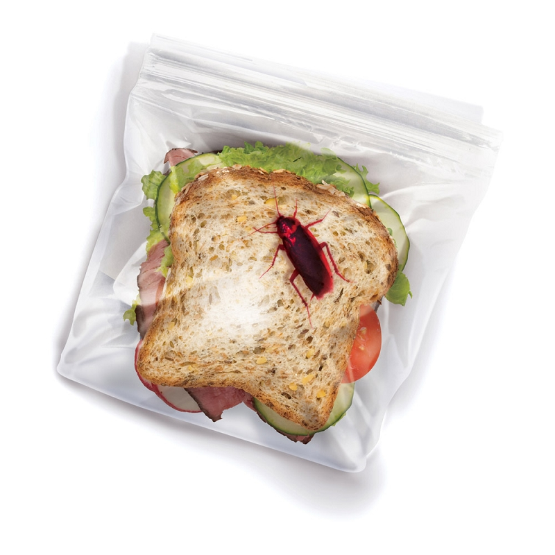 Gag Gifts - Lunch Bug Sandwich Bags