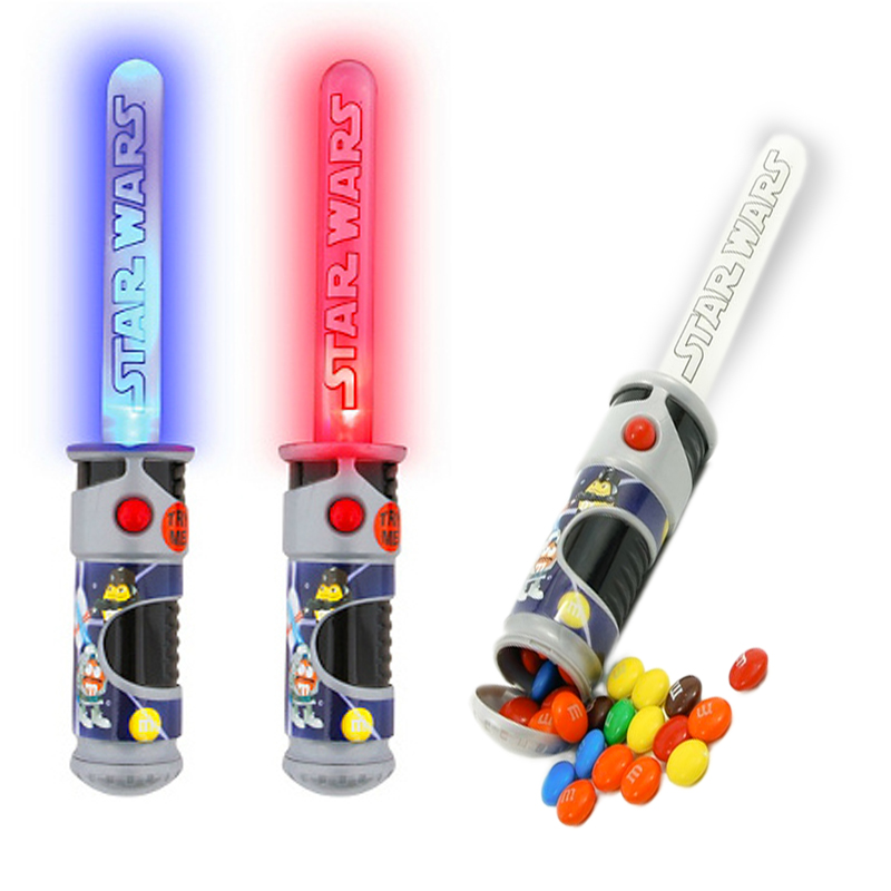 Gag Gifts - M&M's Lightsaber Candy