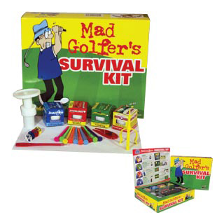 Gag Gifts - Mad Golfer Gag Gift Collection