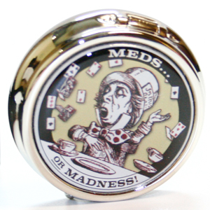 Gag Gifts - Mad Hatter Pill Box