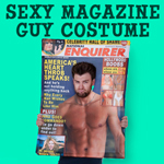 Gag Gifts - Magazine Cover Heartthrob Guy Costume