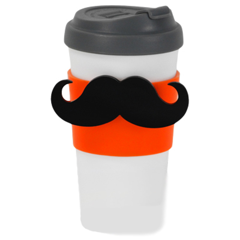 Gag Gifts - Magstache Travel Cup