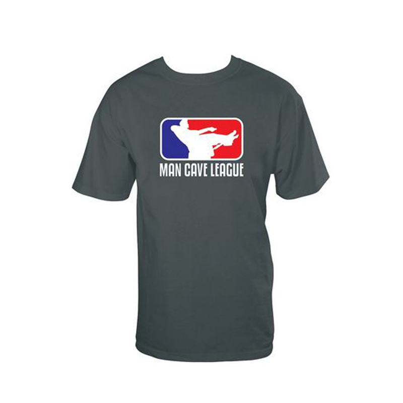 Gag Gifts - Man Cave League T-Shirt