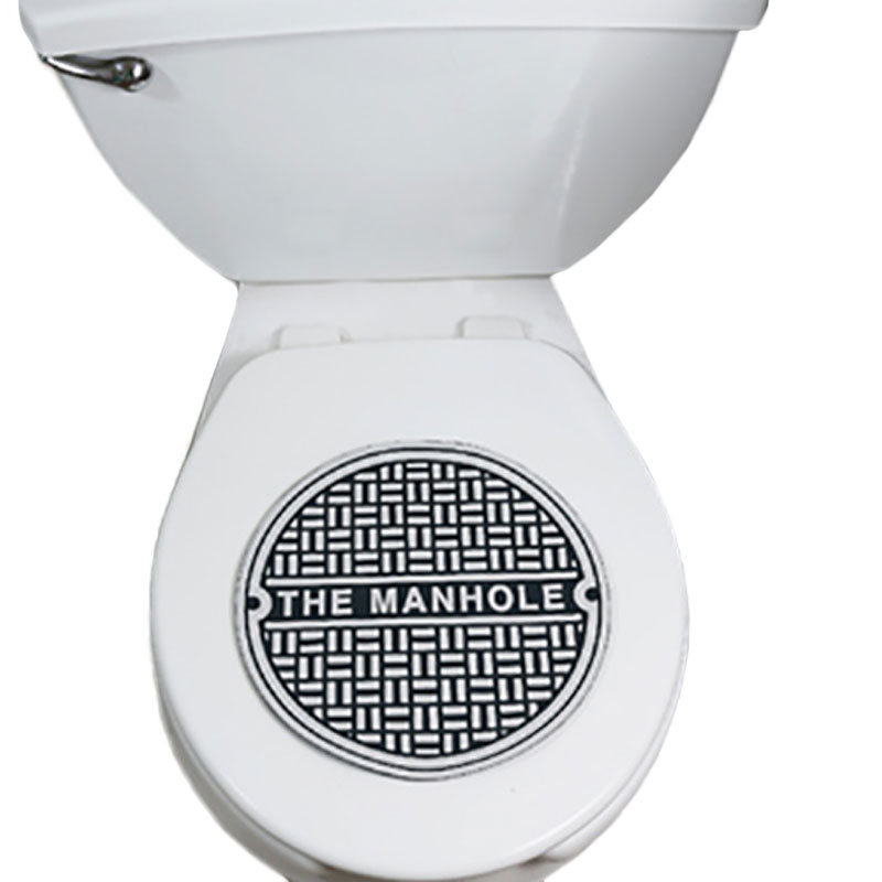 Gag Gifts - Manhole Toilet Cover