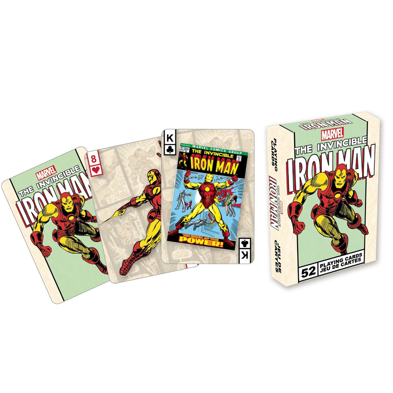 Gag Gifts - Marvel - Iron Man Covers Playing Cards