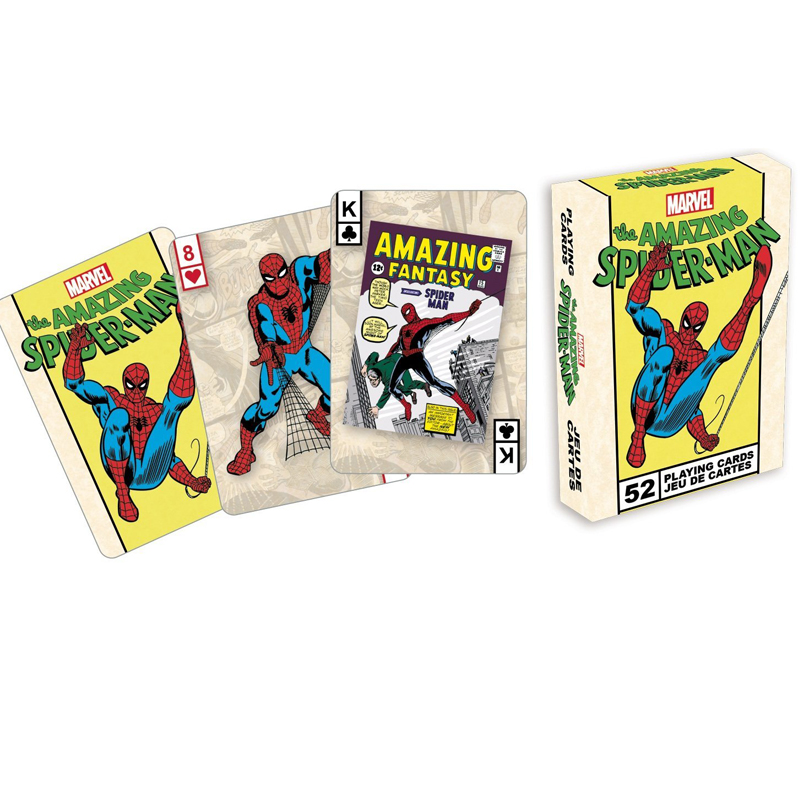 Gag Gifts - Marvel - Spiderman Covers Playing Cards