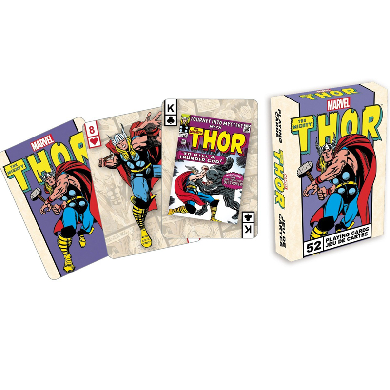 Gag Gifts - Marvel - Thor Covers Playing Cards
