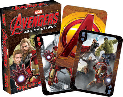 Gag Gifts - Marvel- Avengers 2 Playing Cards
