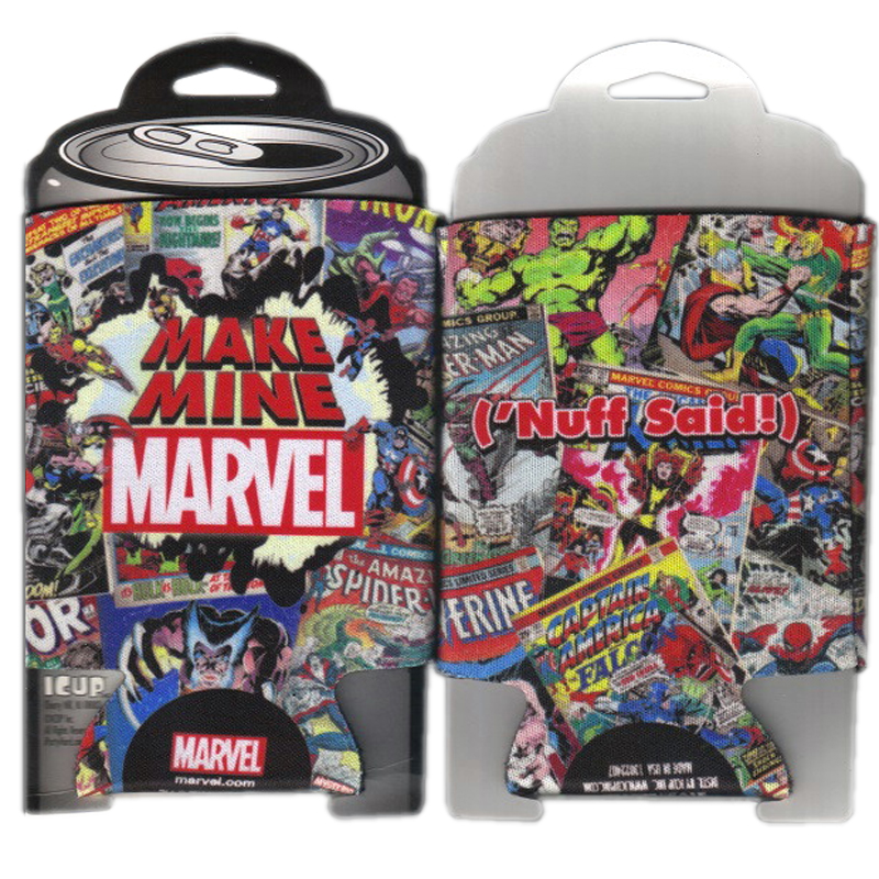 Gag Gifts - Marvel Comic Book Covers Can Huggie