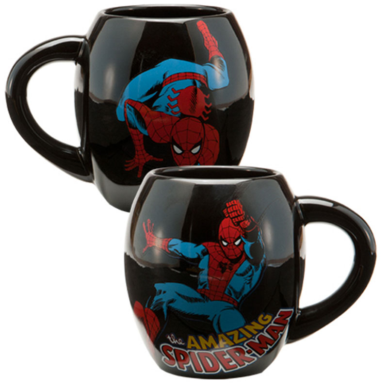 Gag Gifts - Marvel Spiderman 18 oz. Oval Ceramic Mug