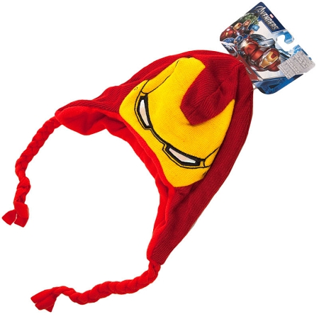 Gag Gifts - Marvel The Avengers: Iron Man Laplander Knit Hat
