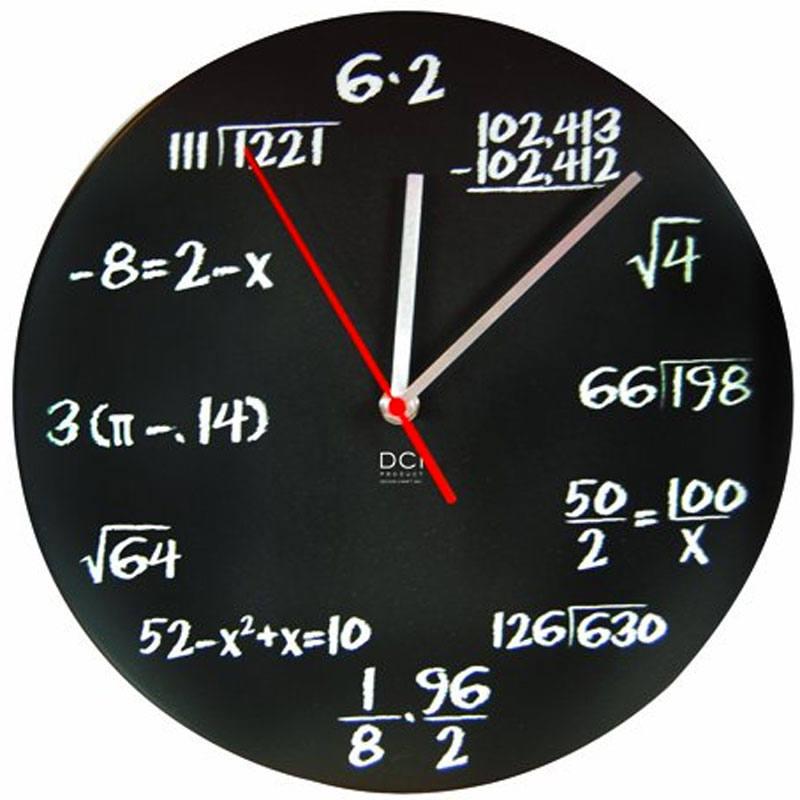 Gag Gifts - Math Equation Clock