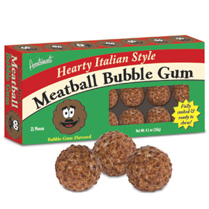 Gag Gifts - Meatball Bubble Gum
