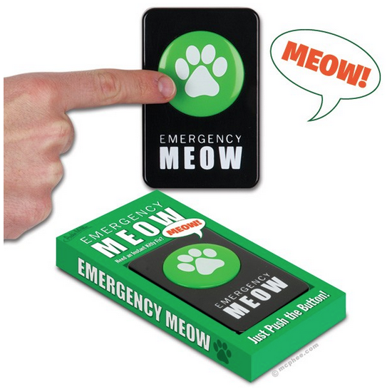 Gag Gifts - Meow Button