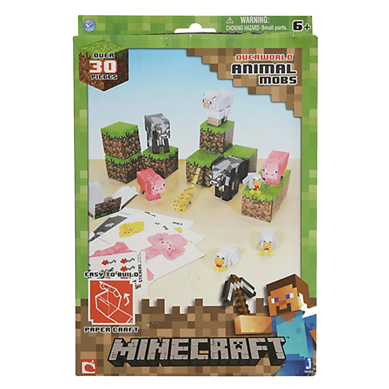 Gag Gifts - Minecraft: Paper Craft, Animal Mobs