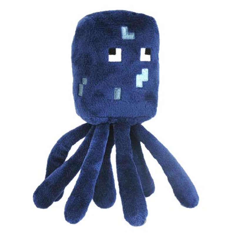 Gag Gifts - Minecraft: Squid Plush Toy