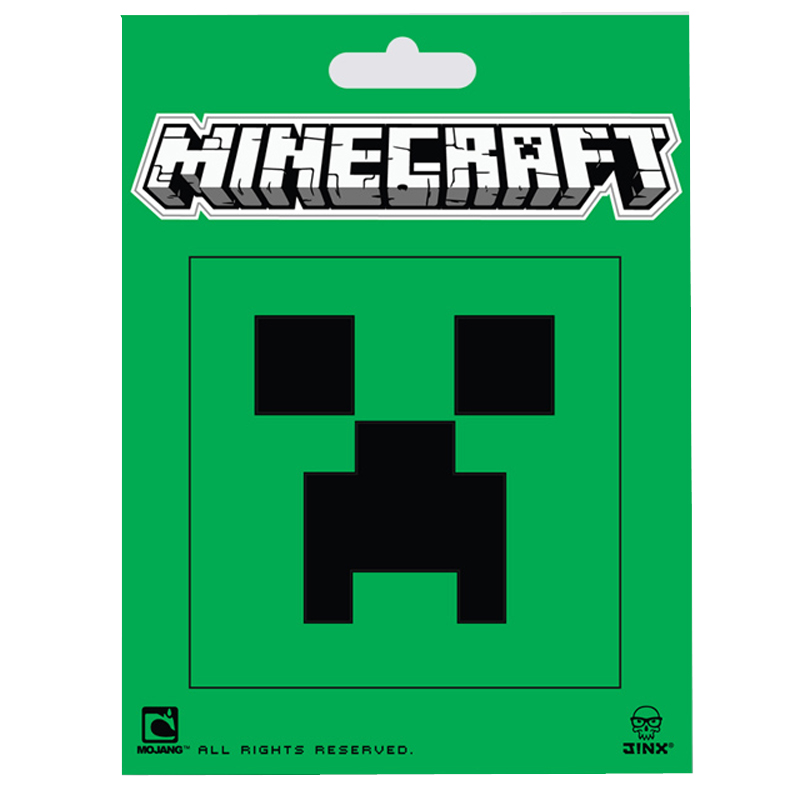 Gag Gifts - Minecraft: Stickers, Creeper Face