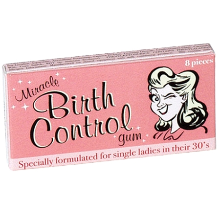 Gag Gifts - Miracle Birth Control Gum