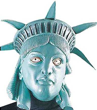 Gag Gifts - Miss Liberty Mask