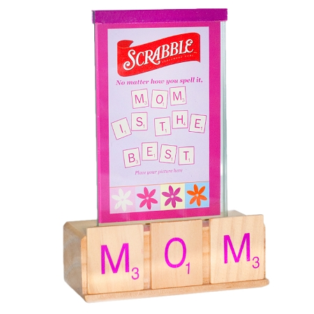 Gag Gifts - Mom's Scrabble Picture Frame